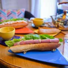 Сэндвичи на французском багете