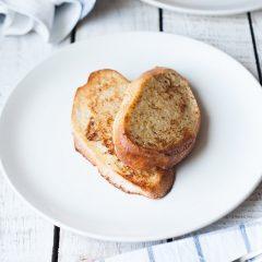 Французские тосты на хлебе Фитнес