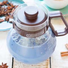 Чай анчана с молоком