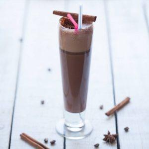 Латте пряный шоколад