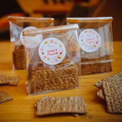Хлебцы с солодом