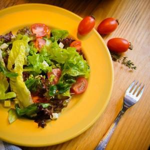 Салат овощной с сыром «Моцарелла»
