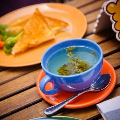 Чай пакетированный зеленый с жасмином