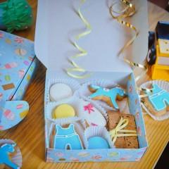 Набор печенья для мальчика на рождение
