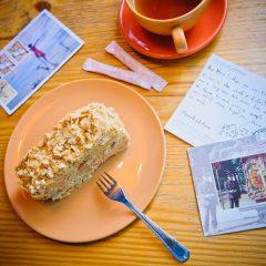 Торт «Наполеон» карамельно-ореховый