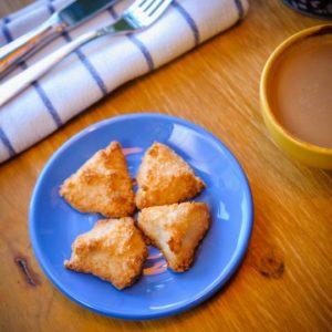 Печенье кокосовое, набор 5 штук