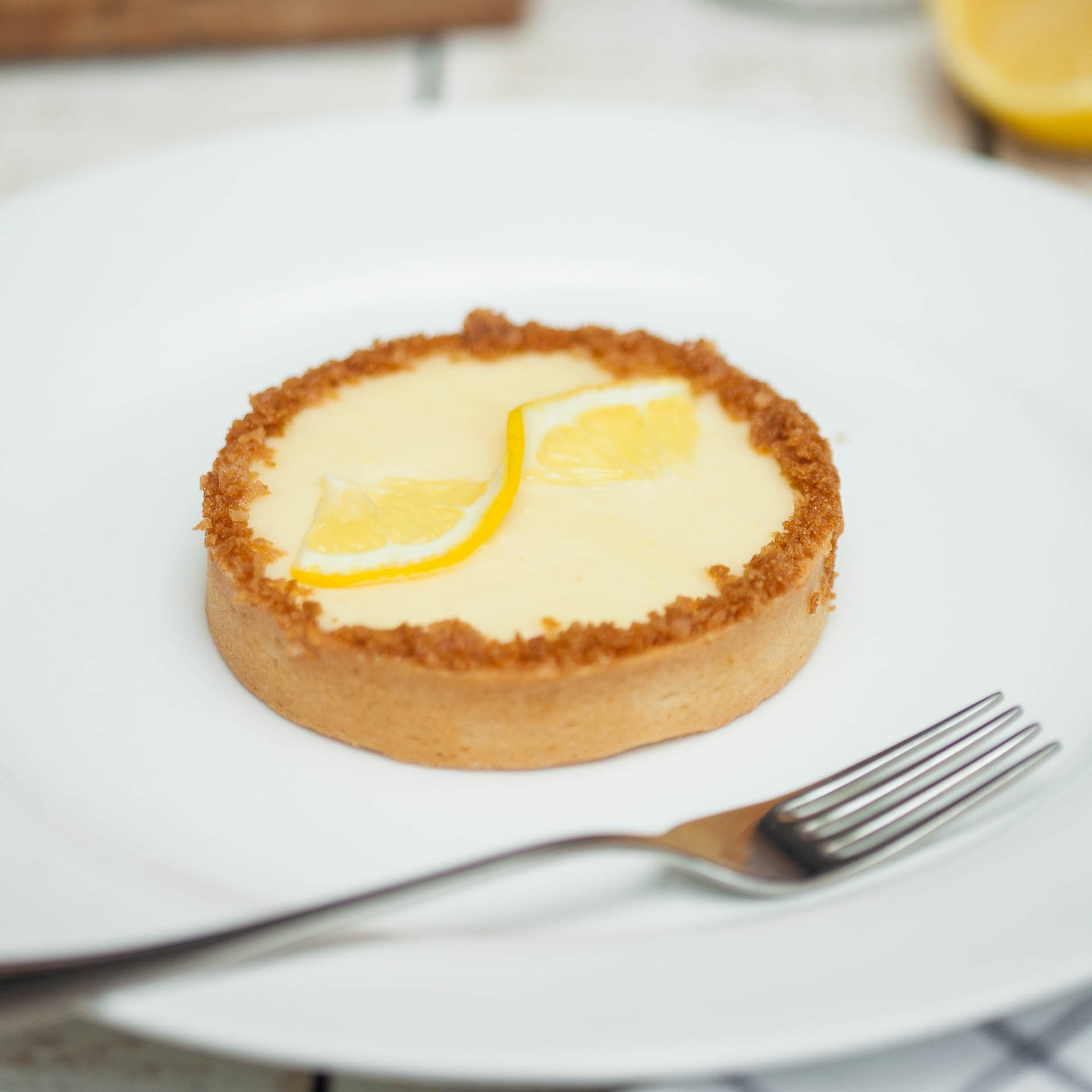 Тартлетка лимонная