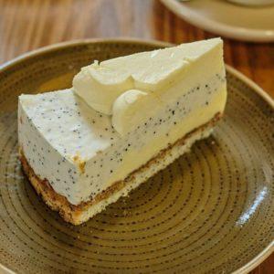 Торт Лимонно-маковый