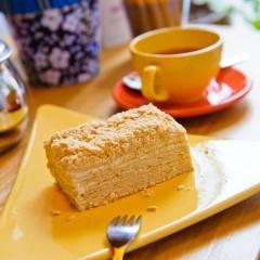 Торт «Наполеон» со сливочным кремом