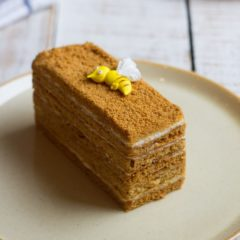 Торт Медовый с карамелью