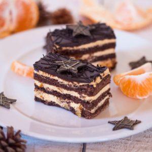 Торт «Рождественская ночь»