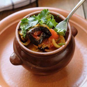Чинахи говядина с овощами по-грузински