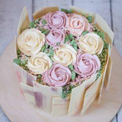 """Торт """"Корзина роз"""""""