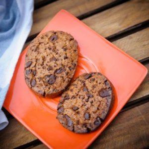 Печенье с шоколадом, набор 3 штуки