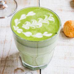 Матча латте на альтернативном молоке