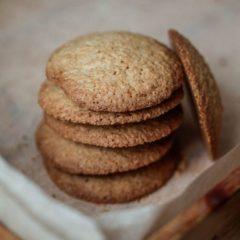 Овсяное печенье классическое, набор 4 штуки